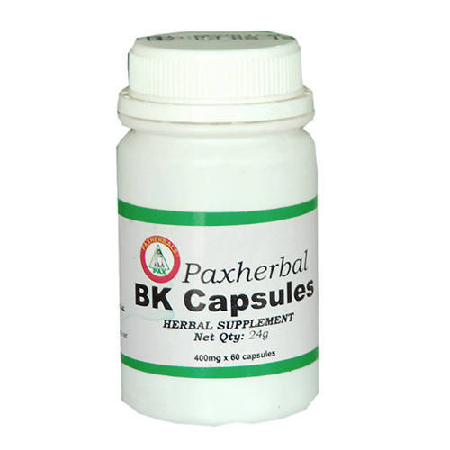 Paxherbal B/K Capsules for Liver Disorders and Bronchitis