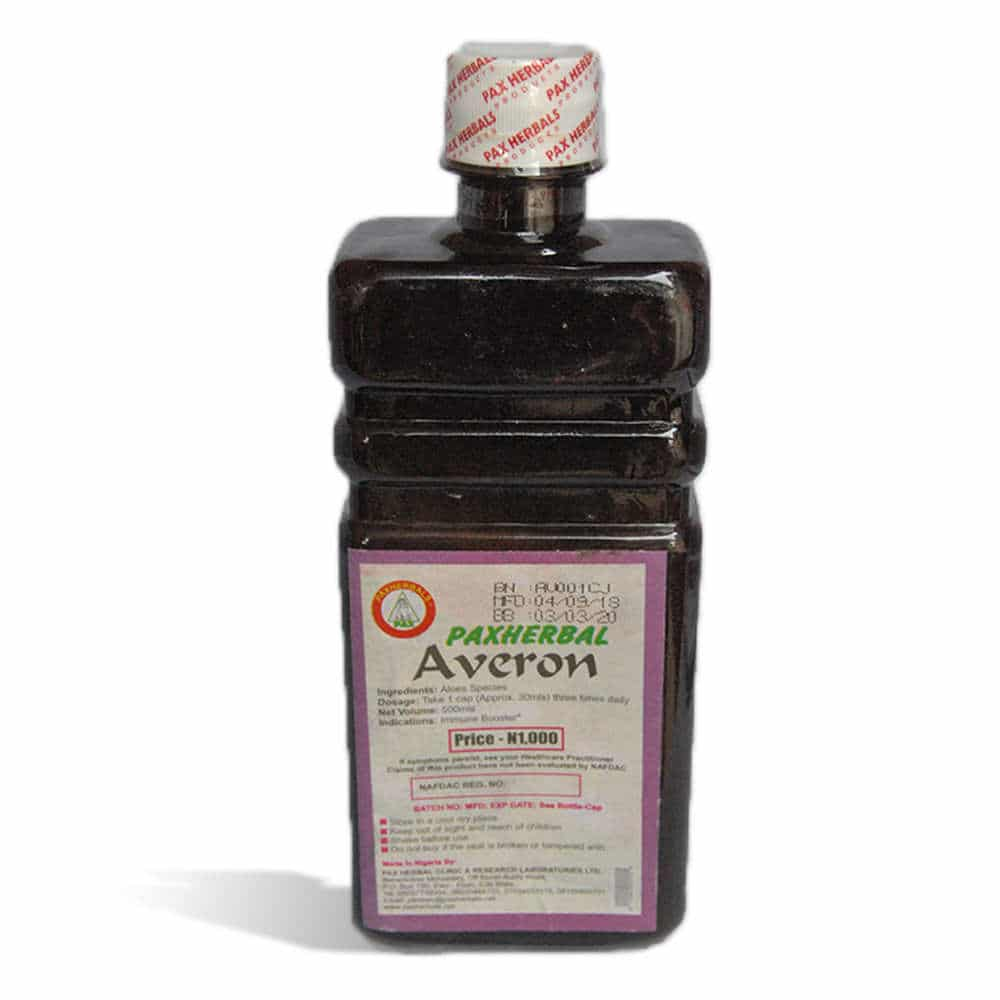Paxherbal Averon product image Front view - Use: Immune booster
