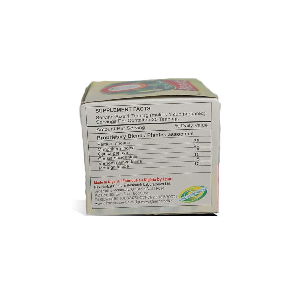 Paxherbal Health Tea product image side view