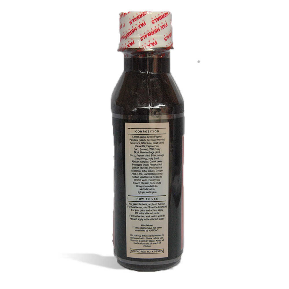 Paxherbal Bitters product image side view 2