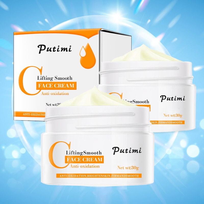 PUTIMI Anti Wrinkle Face Cream Anti-Oxidation Brighten Moisturizer Nourishing Lifting Firming Repair Skin Care Whitening Cream 1